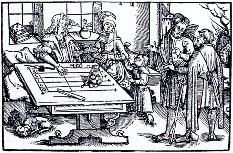 Medieval counting