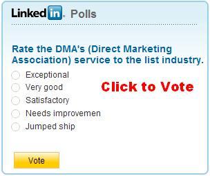 DMA LinkedIn Poll