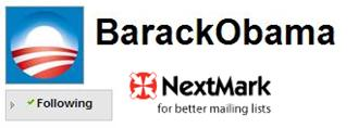 Obama Following NextMark