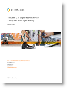 Comscore 2009 digital year in review