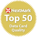 NextMark Top 50 Data Card Quality