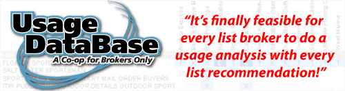 NextMark Usage DataBase